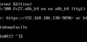 Descargue e instale el servidor de Fedora 27