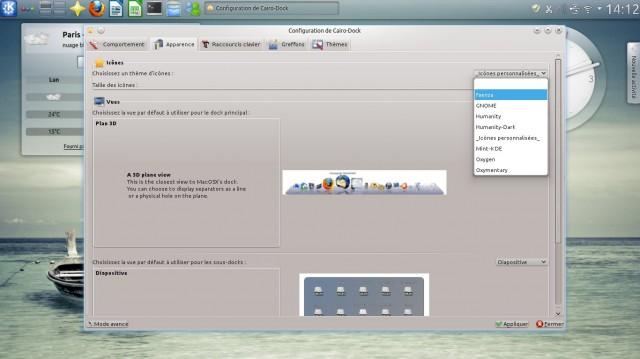 Cairo-dock, el lanzador de aplicaciones que rápidamente se vuelve indispensable 5