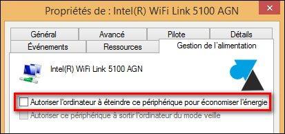 Desactivar el día anterior a la tarjeta wifi 4
