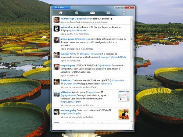 Echofon Beta: La aplicación Twitter llega a Windows 2