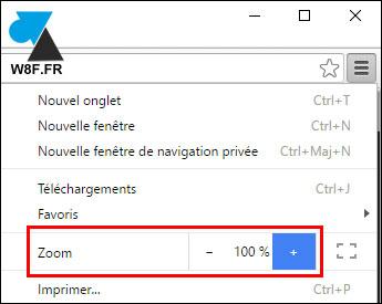 Google Chrome: Ampliar páginas web 6