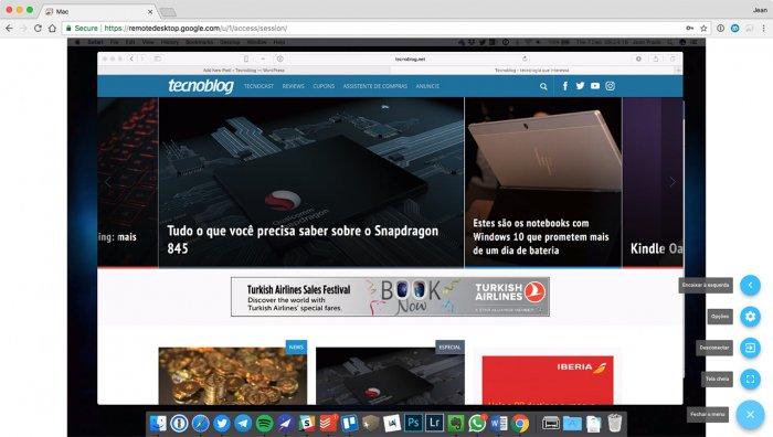 El escritorio remoto Chrome ahora se ejecuta en la Web 4