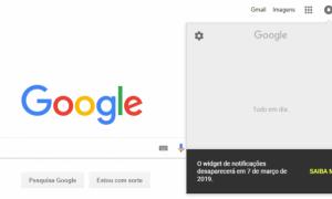 Google eliminará el widget de notificación de sus páginas