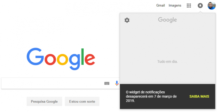 Google eliminará el widget de notificación de sus páginas 1