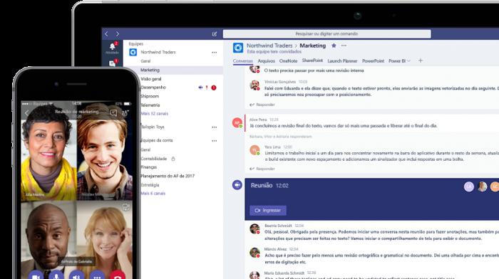 Microsoft lanza una versión gratuita de Teams para competir con Slack 2