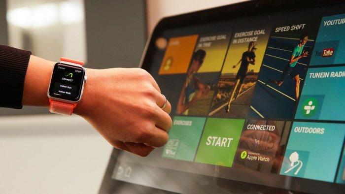 Apple Watch sincroniza los datos con los equipos de fitness a través de GymKit