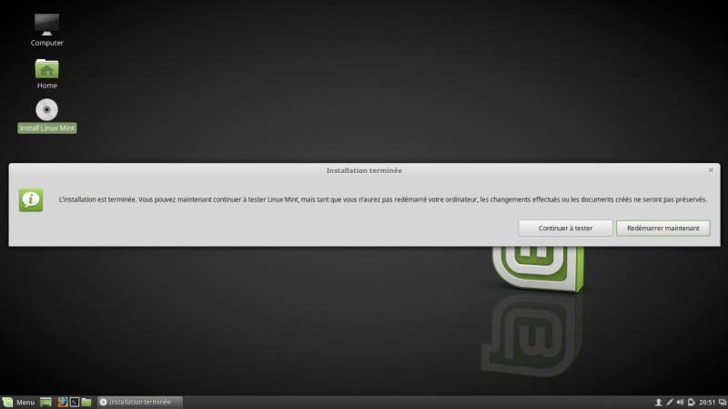 Cómo instalar Linux Mint 18 Cinnamon 10