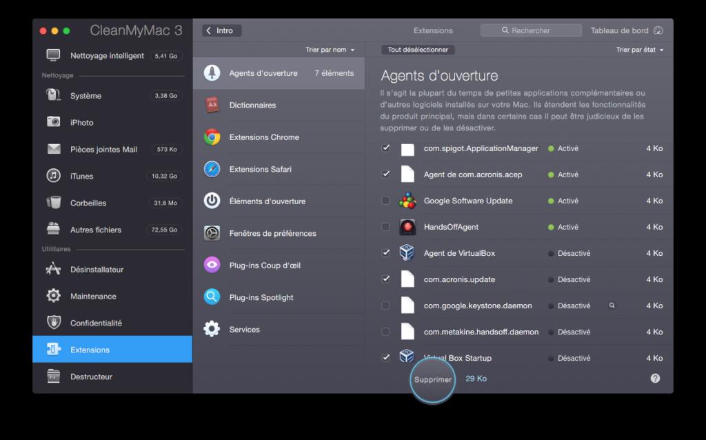 Optimizar El Capitan (Mac OS X 10.11) 10