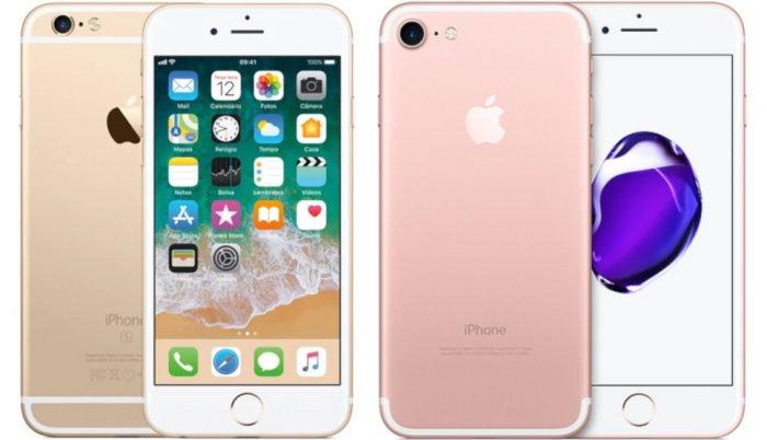 ¿Cuál es la diferencia entre el iPhone 6s y el iPhone 7?