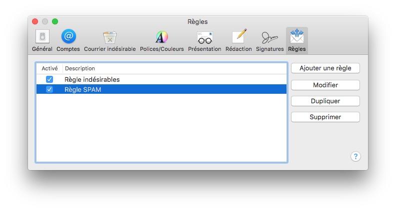 Gestiona el spam en Mac con Apple Mail 1