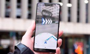 Google Maps prueba el modo de realidad aumentada para rutas a pie