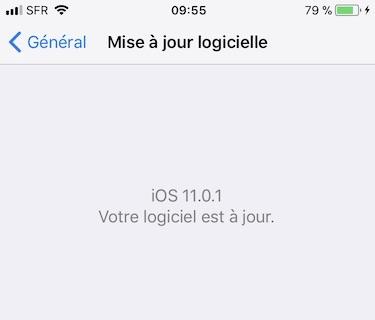 iOS 11.0.1 : actualización disponible (enlaces IPSW) 1