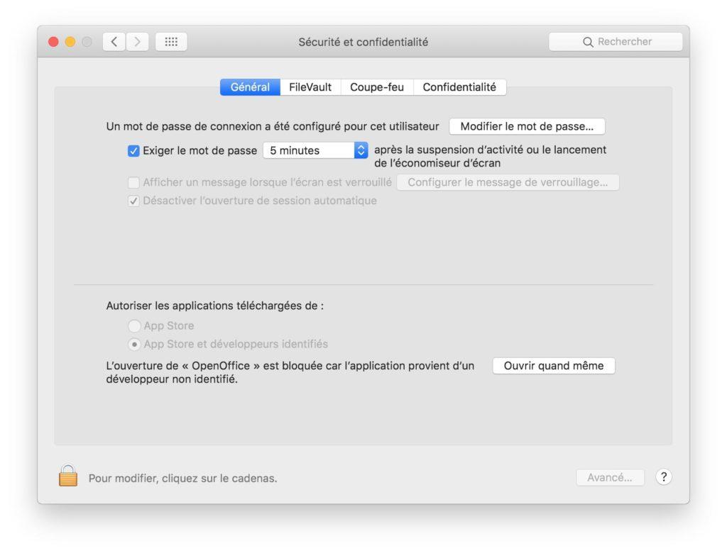 Abrir aplicaciones no identificadas en macOS Mojave (10.14) 2