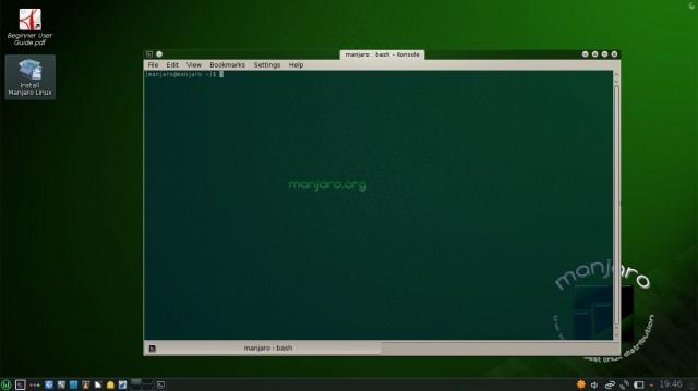 Manjaro KDE 0.8.6 para ser probado en su ordenador 5