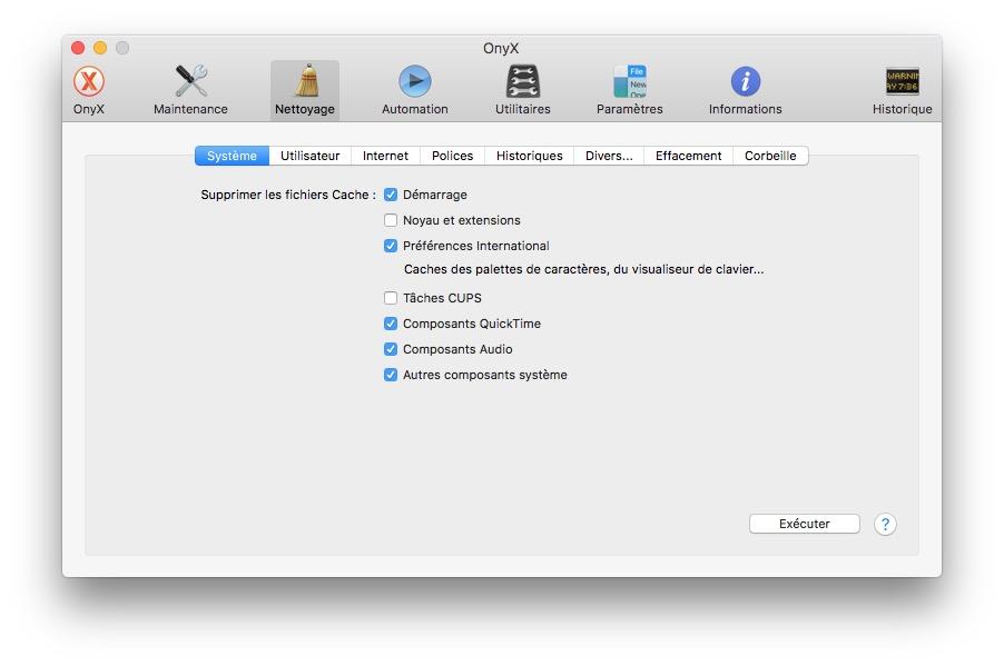 Onyx macOS Sierra (10.12) : instrucciones de uso 4