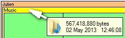Mostrar lo que ocupa espacio en el disco duro 8
