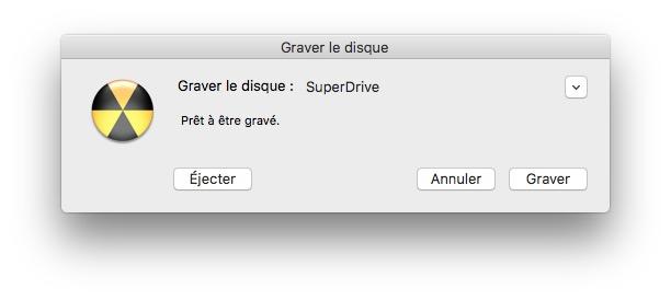 Quemar una ISO en Mac OS Sierra (10.12), El Capitán (10.11).... 2