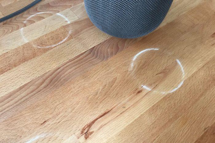 HomePod puede teñir tus muebles de madera