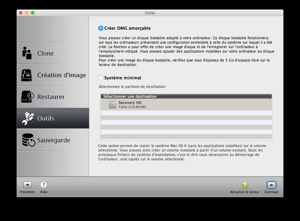 Clone El Capitan Mac OS X (10.11) : copia perfecta en disco 8