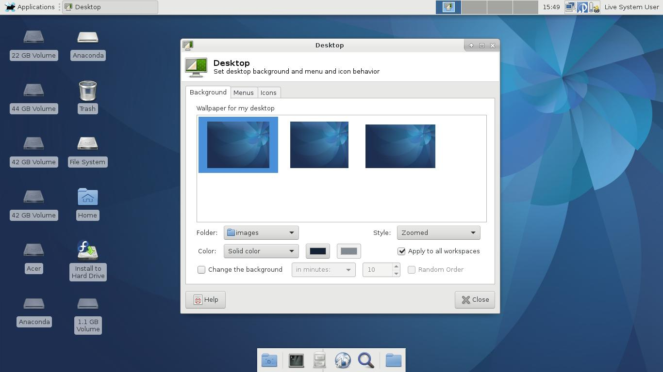 Lanzamiento de la versión 25 de Fedora
