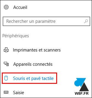 Windows 10: cambiar la dirección de desplazamiento del panel táctil 4