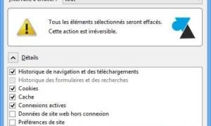 Vaciar los archivos temporales de Mozilla Firefox