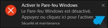 Windows 10: Desactivar Firewall de Windows