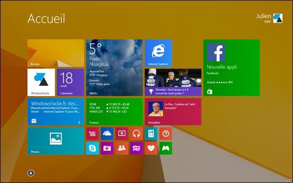 Windows 8.1: cambiar la imagen de la pantalla de inicio