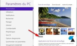 Windows 8 / 8.1: Modificar la imagen en la pantalla de bloqueo
