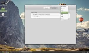 Cómo cambiar los fondos de pantalla en Linux Mint 18.1 Cinnamon