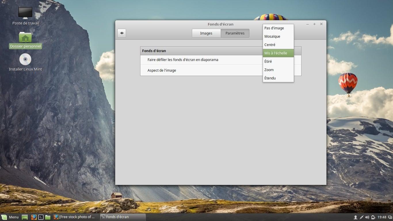 Cómo Cambiar Los Fondos De Pantalla En Linux Mint 18 1 Cinnamon