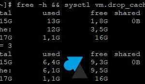 Linux: memoria RAM vacía