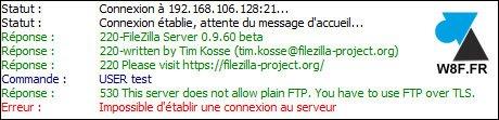 FileZilla Server: habilitar FTPS (FTP sobre TLS)