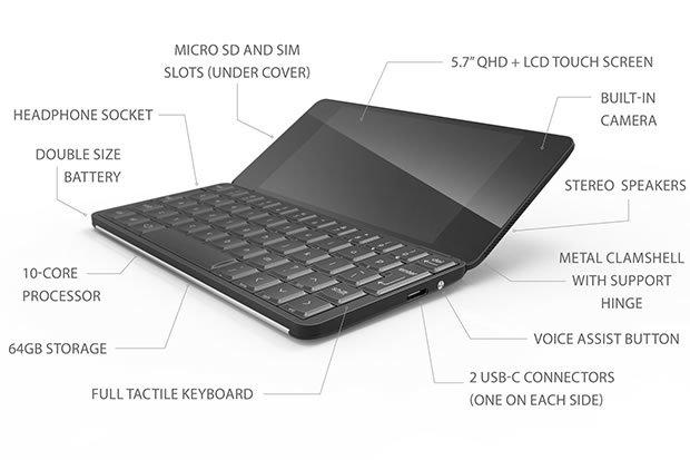 Gemini PDA: Psion de nuevo en Android y Linux!