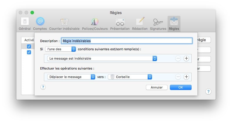 Gestiona el spam en Mac con Apple Mail