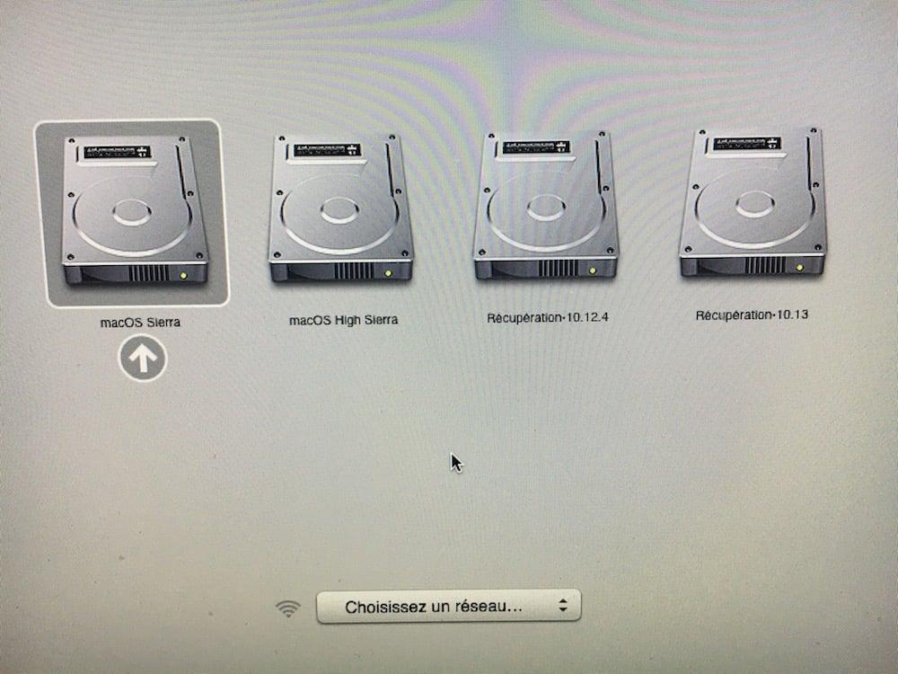 Instalar macOS High Sierra en el arranque dual (partición, disco externo...)