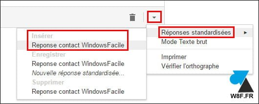 Gmail: definir plantillas de respuesta automática