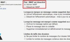 Gmail / Google Apps: activar IMAP