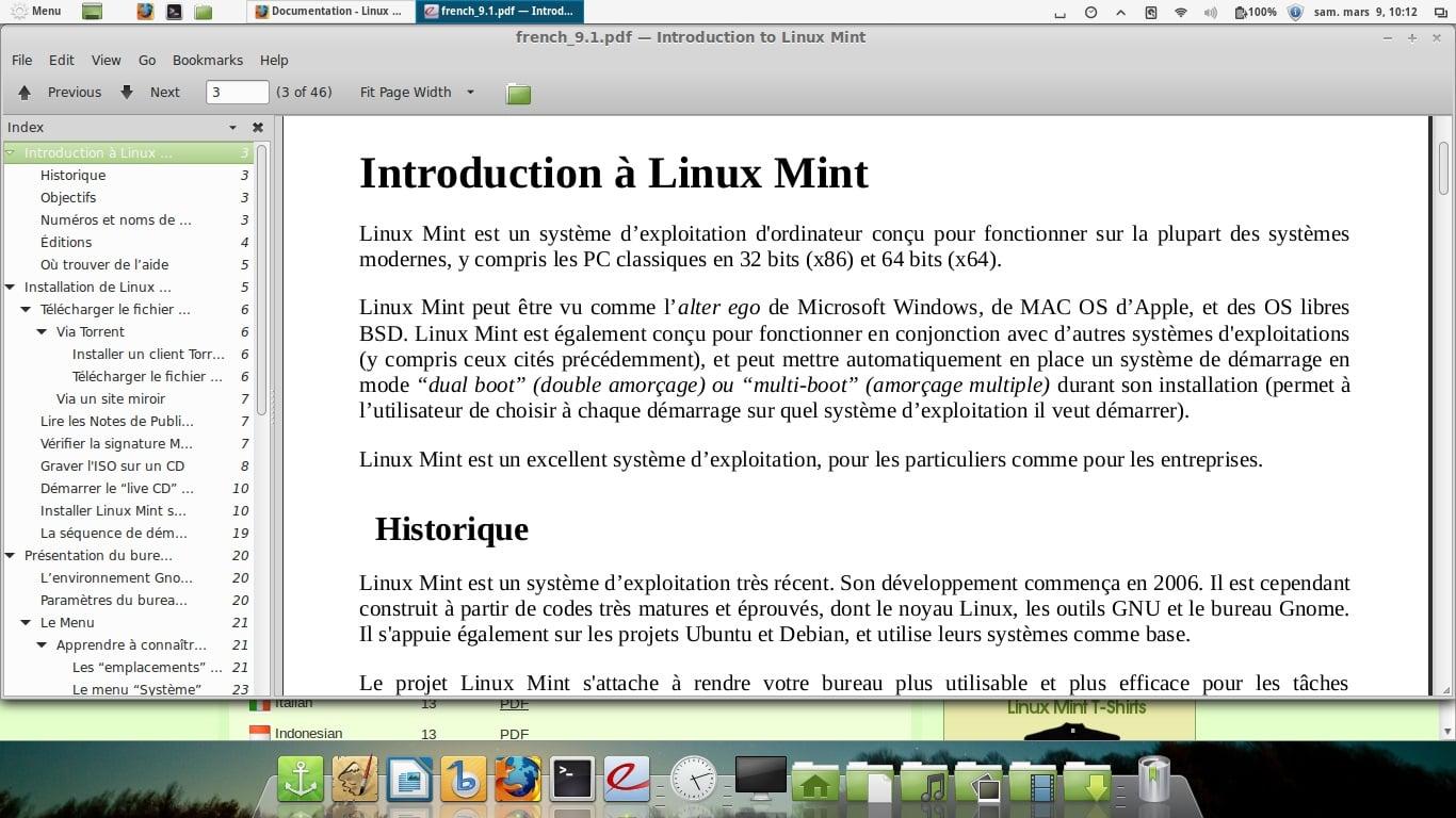 Haga que la ventana de Bienvenido a Linux Mint aparezca de nuevo