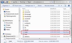 Localiza y transfiere tu historial de Skype