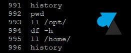 Eliminar la historia de los comandos de Linux