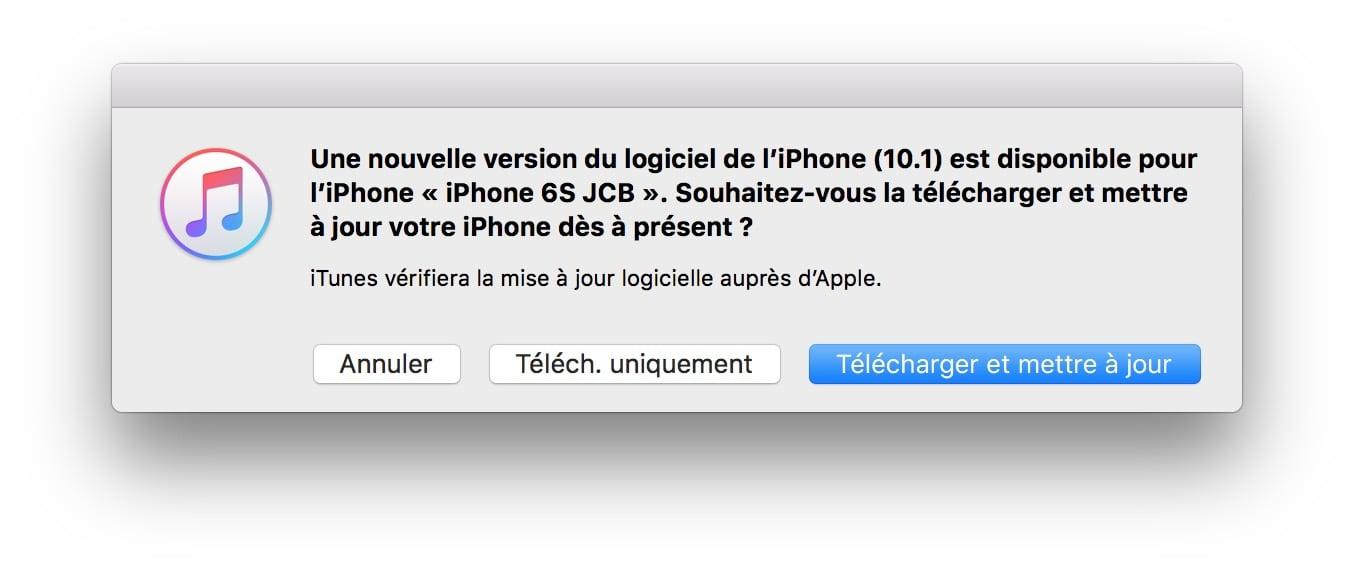 iOS 10.1 : Actualización de iPhone, iPad, iPod touch