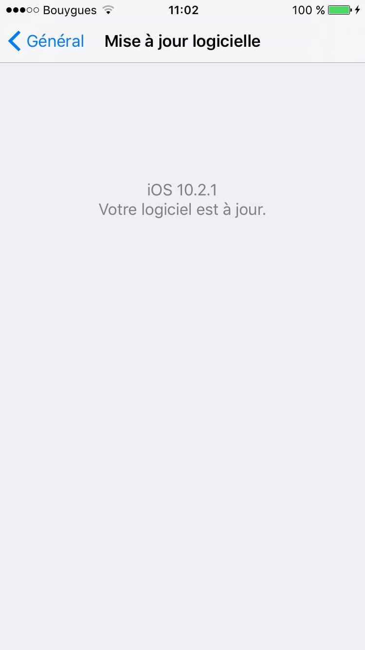 iOS 10.2.1 : actualización para iPhone, iPad e iPod