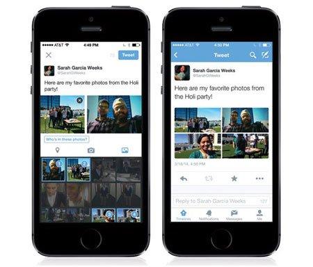 Twitter finalmente permite la identificación de fotos