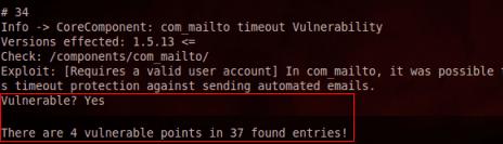 Joomscan: Detección de vulnerabilidades en un sitio Joomla