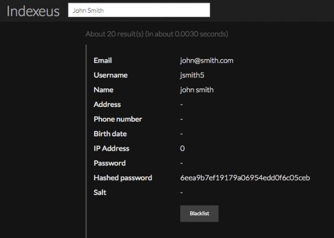 Averigua si has sido hackeado con Indexeus 2