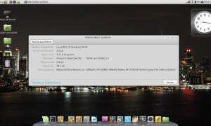 Información del sistema bajo Linux Mint