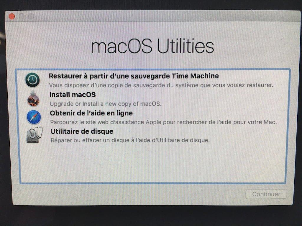 Instalación limpia de MacOS Sierra (10.12)