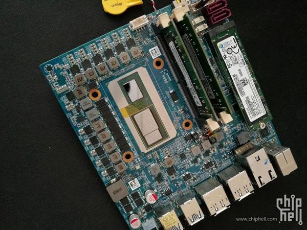 CPU Intel con GPU AMD: ¡aquí están las primeras fotos del módulo!