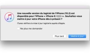iOS 10.2 : actualización para iPhone, iPad, iPod touch